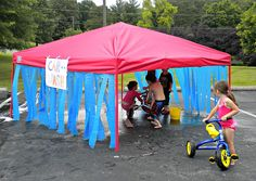 Water #Fun for #Kids: Workin' at the Car Wash