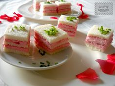 Ricette Barbare: Pink sandwiches