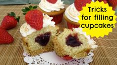 VIDEO} Tips & Tricks For How To Fill Your Cupcakes | Cupcakes 101: Quick, Easy Tips & Tricks
