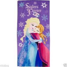 Disney-Frozen-Sisters-Forever-Large-Beach-Towel-28x58