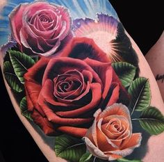 Our Website is the greatest collection of tattoos designs and artists. Find Inspirations for your next Tattoo Roses. Search for more Tattoos. Dahlia Tattoo, Rose Drawing Tattoo, Realistic Rose Tattoo, Rose Flower Tattoos, Realistic Drawings, Tattoo Drawings, Art Drawings, Lila Tattoos, Purple Tattoos