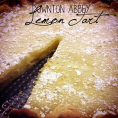 Downton Abbey Lemon Tart   AllFreeCopycatRecipes.com