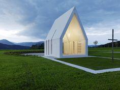 Maria Magdalena Chapel, Zollfeld, Austria by Sacher.Lociciero.Architectes