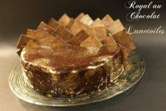Royal au chocolat / dessert des fetes de fin d'annee - Amour de cuisine