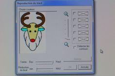 La numérisation de motifs dans Design Center Part 2 - Le tracé d'image