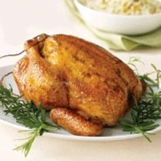 Lemon-Pepper Roasted Chicken