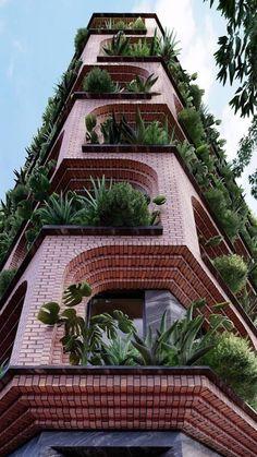 Green Architecture, Futuristic Architecture, Sustainable Architecture, Residential Architecture, Amazing Architecture, Landscape Architecture, Sustainable Building Design, Monumental Architecture, Architecture Images