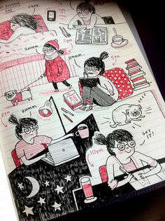 Flex by Filofax by gemma correll, via Flickr