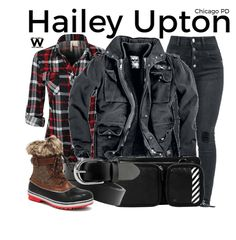 Inspired by Tracy Spiridakos as Hailey Upton on Chicago P. Discover outfit ideas for made with the shoplook outfit maker. How to wear ideas for Leather Waist Belt and Chicago Shows, Chicago Pd, Chicago Fire, Tracy Spiridakos, Chicago Outfit, Tv Show Outfits, Outfit Maker, Fashion Tv, Fall Winter Outfits