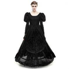 gothicandamazing:     Dress: Punkrave HERE   Welcome to Gothic and Amazing |http://ift.tt/2cxUsbA