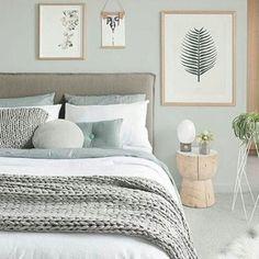Rustic Romantic Bedroom, Rustic Grey Bedroom, Modern Grey Bedroom, Sage Green Bedroom, Grey Bedroom Furniture, Natural Bedroom, Minimalist Bedroom, Home Decor Bedroom, Bedroom Ideas