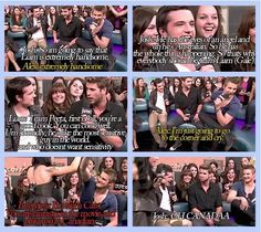 This is why we love our boys, except for Gale. No one likes Liam.