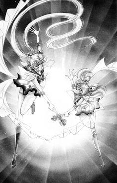 Sailor Moon e Chibiusa