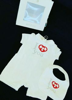 kids gucci infant romper comes inside of a box from $135.0
