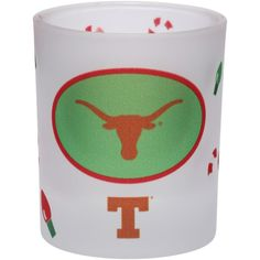 You've made a list and checked it twice, now it's time to show off your die-hard fandom. Accomplish that goal by getting this Texas Longhorns Holiday frosted milk glass. It features awesome Texas Longhorns graphics as well as fun holiday decor all over. Texas Longhorns Football, Milk Glass, Frost, Tableware, Holiday, Fitness, Sports, Hs Sports, Dinnerware