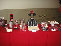 Mickey and Minnie Mouse Birthday Party Ideas   Photo 26 of 55   Catch My Party