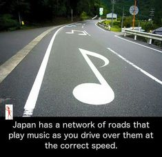 Musical road near Mount Fuji, Japan. ( we have one in antilope Valley California near Edwards airforce base (Cool Places In Japan) Funny Memes, Jokes, Wtf Fun Facts, The More You Know, Cool Ideas, Mind Blown, In This World, I Laughed, Haha