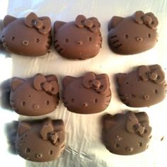 Chocolates de Hello Kitty | 25 comidas de Hello Kitty que son demasiado adorables para comer