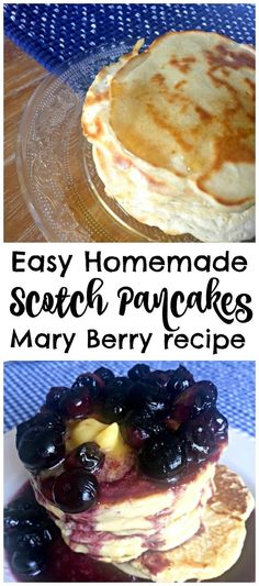 Easy foolproof recipe for delicious homemade Scotch Pancakes by Mary Berry! Just… Easy foolproof recipe for delicious homemade Scotch Pancakes by Mary Berry! Just five ingredients and ten minutes for an amazing brunch treat! Scotch Pancakes, Pancakes And Waffles, Mary Berry Pancakes, Pancakes Easy, British Baking, British Bake Off, Brunch Recipes, Breakfast Recipes, Pancake Recipes
