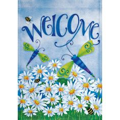 Rain or Shine�18-in x 12.5-in Bugs Flag- also available in large.