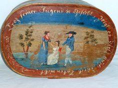 bride's box, 18th c