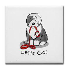 Lovely Old English Sheepdog cartoon Animal Drawings, Cute Drawings, Pencil Drawings, Chien Bobtail, My Boy Blue, Polish Lowland Sheepdog, Old English Sheepdog Puppy, English Shepherd, Doodle Art Drawing