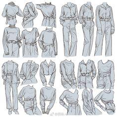 Рисуем одежду #Обучение@lessons_and_tutorials..   Уроки и туториалы