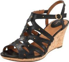 Clarks Women's Fiddle String Platform Sandal