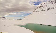 Il trenino del Bernina - Il Lago Bianco