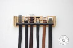 Belt Rack Gifts for Men Fathers Day Gift Groomsmen Gifts