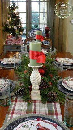 sandra lee christmas tablescapes | ... table. Did I just say ...