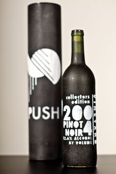 wine bottle design I did a few years ago
