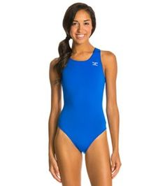 Finals Endurotech Solid Super V-Back One Piece Swimsuit  27