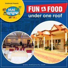 Fun #WaterSlides, #WavePool, DJ with rain-dance, Kids Zone, AC Rooms, A-1 #Restaurant and what not? Plan a trip to #MMFunCity to experience all fun at one place! #Waterpark #FunandFood #Stay #Raipur