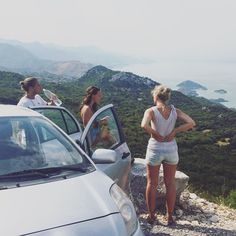 Road trip by the side of the lake! Williane even took me to Kotor by car saving me a bus ride! Adventurous day for sure