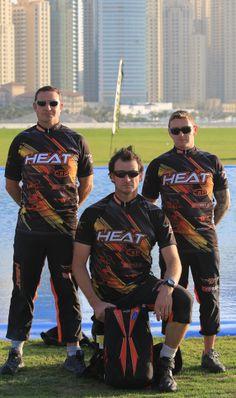 Team Heat skydiving jerseys