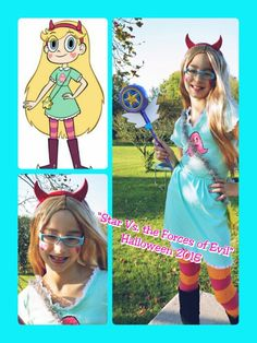 Star vs the forces of evil  Star butterfly  Cosplay costume diy