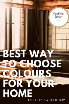 Get some expert advice on how to easily choose a colour scheme for your home that makes you happy every time you get home Blue Paint Colors, Colours, Sophisticated Bedroom, Love Your Home, Color Psychology, Color Of The Year, Room Paint, Color Theory, My Favorite Color