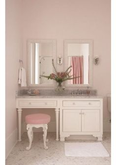 Pretty Bathroom for a little girl!traditional bathroom by Tracery Interiors