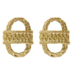 Small Basket Earrings | Fornash