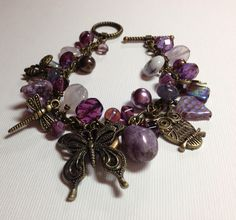 Winged Things Charm Bracelet from Littlebitofjess Jewelry for $20.00