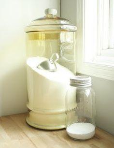 Una Casa Sana: {Receta Limpiador Ecológico} 6: Detergente en polvo para…