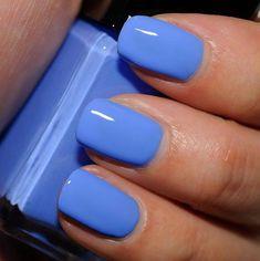 nails Illamasqua Cameo Nail Varnish Purple Makes a Cameo in This Blue Illamasqua Cameo Nail Varnish Spring Nails, Summer Nails, Summer Nail Colors, Gel Nail Colors, Color Nails, Pretty Nail Colors, Fall Nails, Bright Nails For Summer, Blue Colors