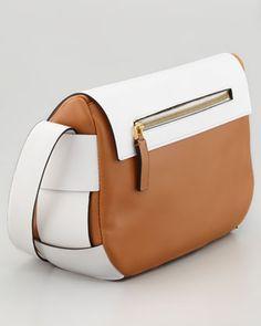 Marni Bicolor Leather Shoulder Bag