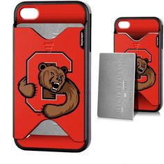 Cornell Big Red Apple iPhone 4/4s Credit Card Case