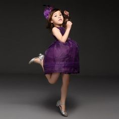 Fashion Flower Girl Dresses Children Purple Organza Princess Party Wedding Girls Frocks Baby Dresses For Kids Clothes Christmas Gd40918 10 From Cnbabywholeseller, $138.13 | Dhgate.Com