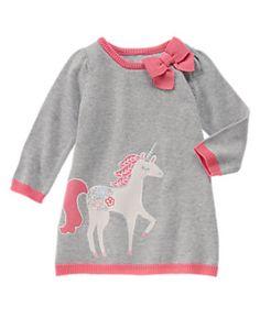 NWT Gymboree Snowflake fun Bunny Sweater Dress SZ 7,12 Girls