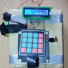 Airsoft arduino dummy bomb aka CSGO.  Atrapa bomby asg ala csgoł #arduino #airsoft #dummy #csgo #counterstrike #keypad #electronic #avr #lcd #homemade by grodpl