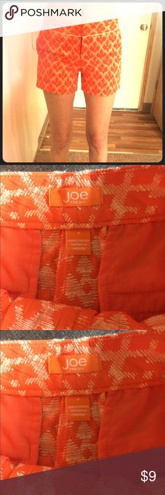 Joe Orange Shorts Size 2 Joe Shorts. Orange. Size 2 Joe Fresh Shorts