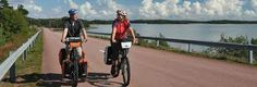 Polkupyöräilyä Ahvenanmaalla. Tehnyt Veeti